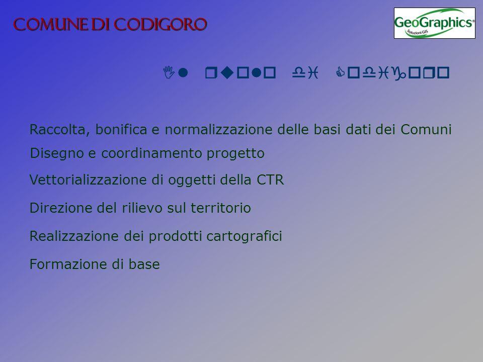 COMUNE DI CODIGORO Il ruolo di Codigoro