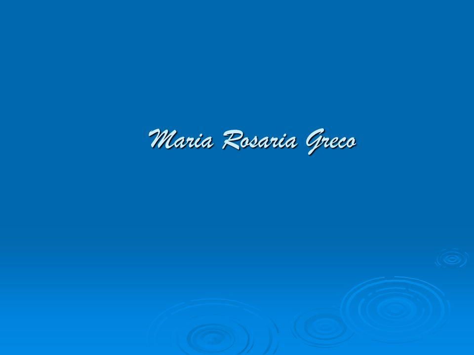 Maria Rosaria Greco