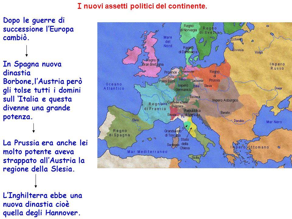 I nuovi assetti politici del continente.