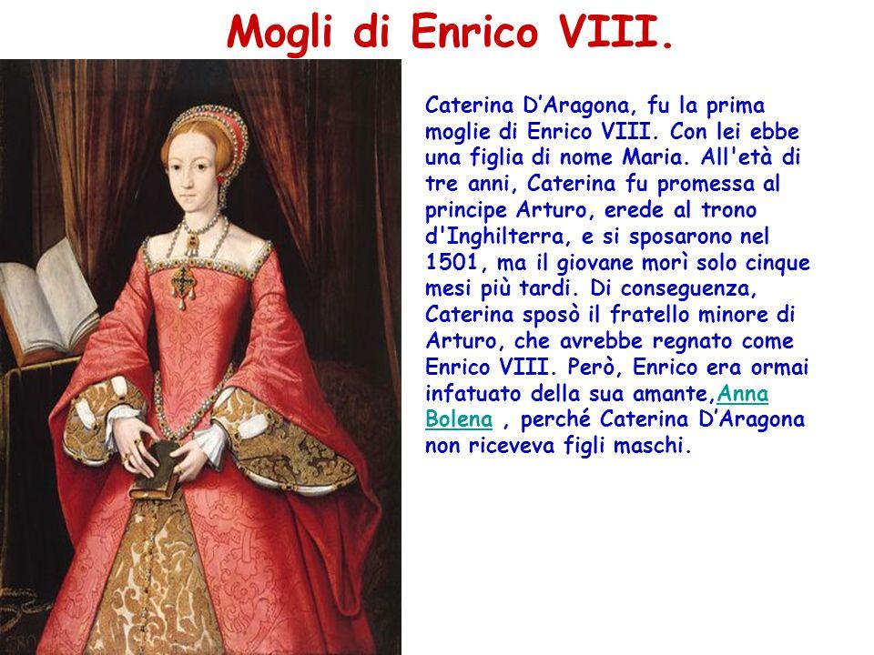 Mogli di Enrico VIII.
