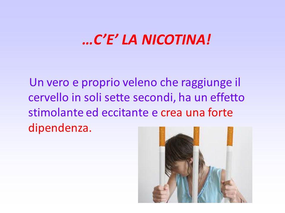 …C'E' LA NICOTINA!