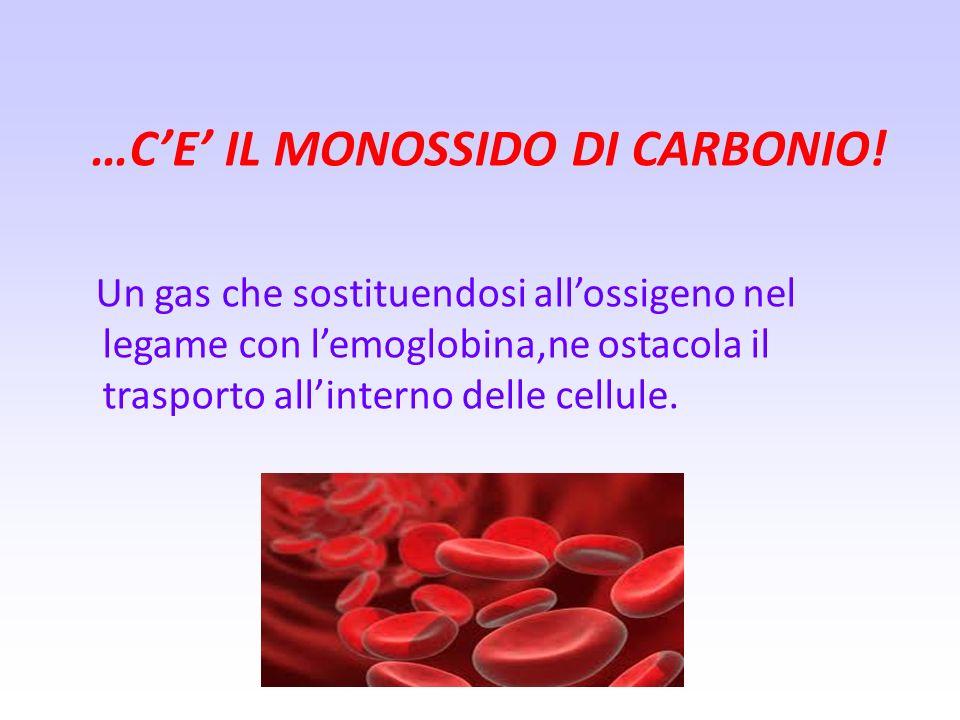 …C'E' IL MONOSSIDO DI CARBONIO!