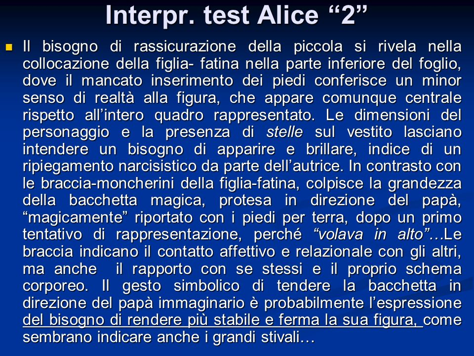 Interpr. test Alice 2