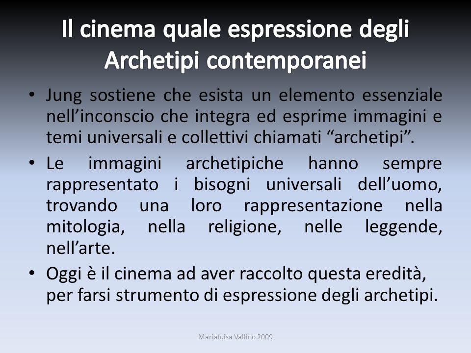 Il cinema quale espressione degli Archetipi contemporanei