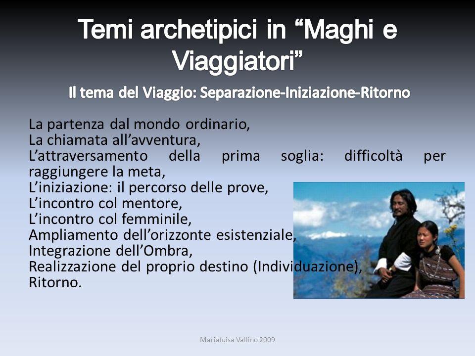 Temi archetipici in Maghi e Viaggiatori