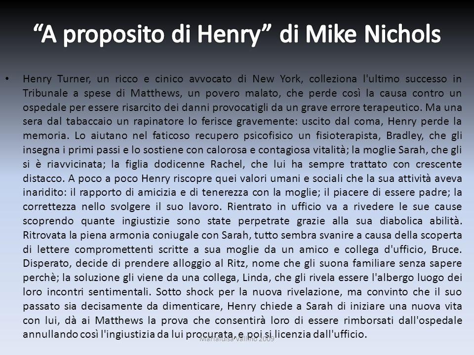A proposito di Henry di Mike Nichols