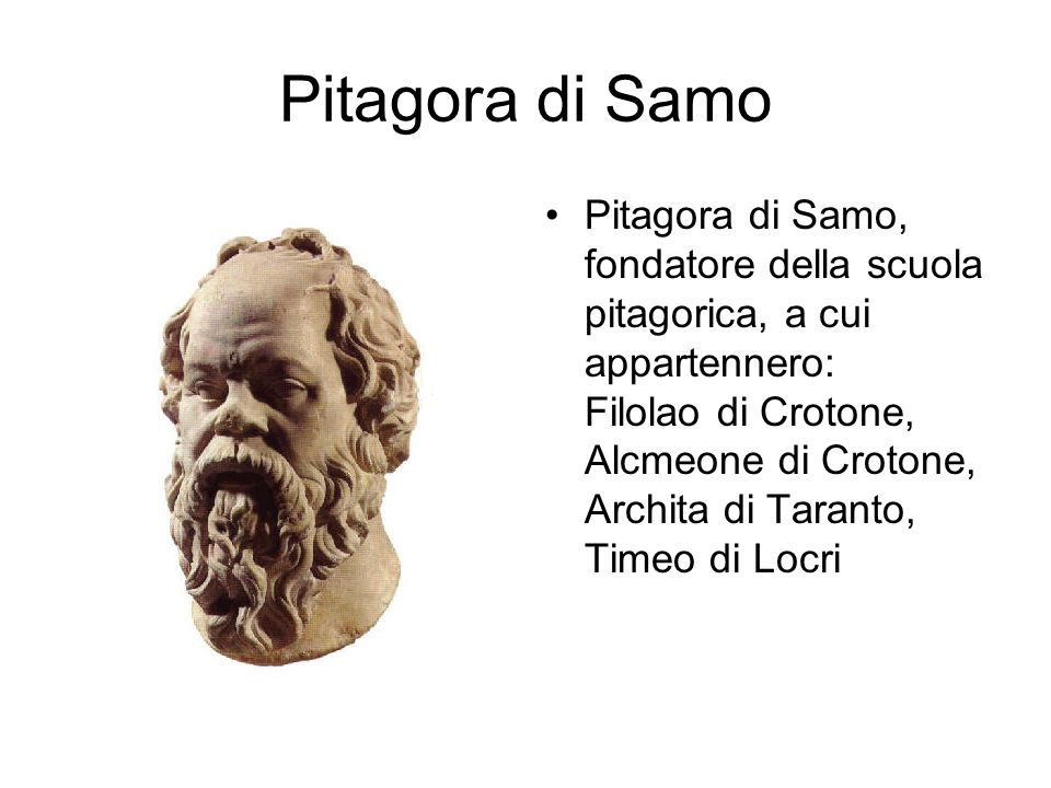 Pitagora di Samo