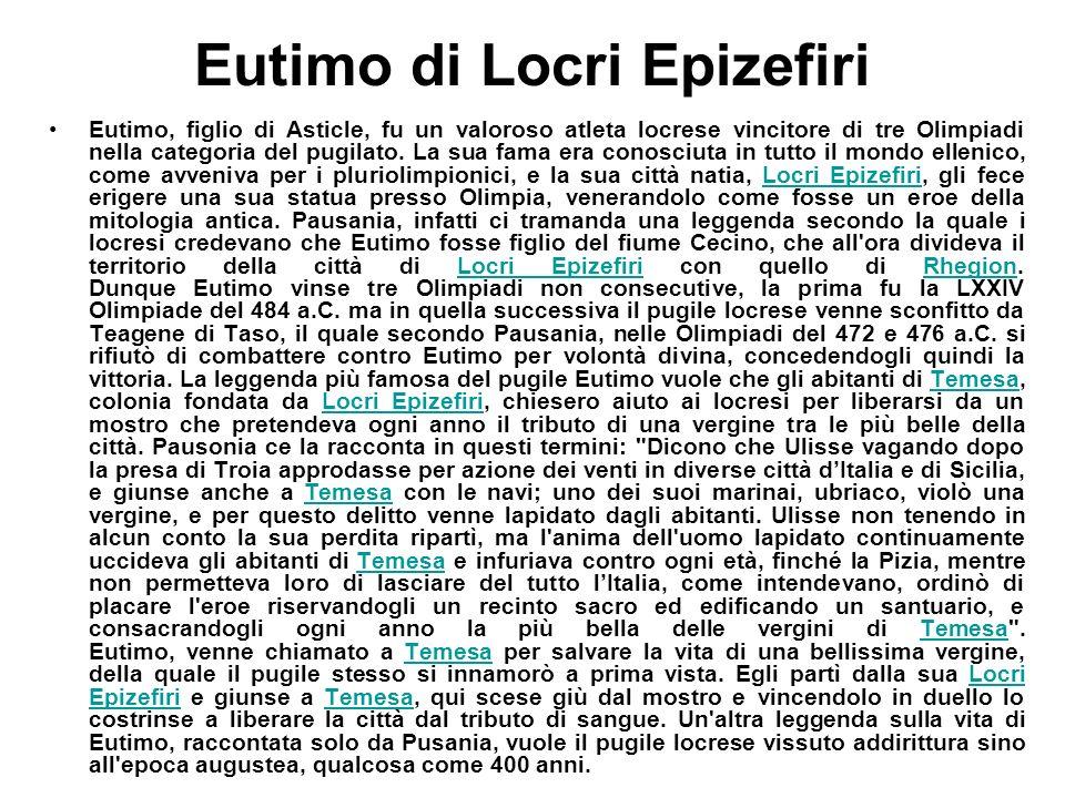 Eutimo di Locri Epizefiri