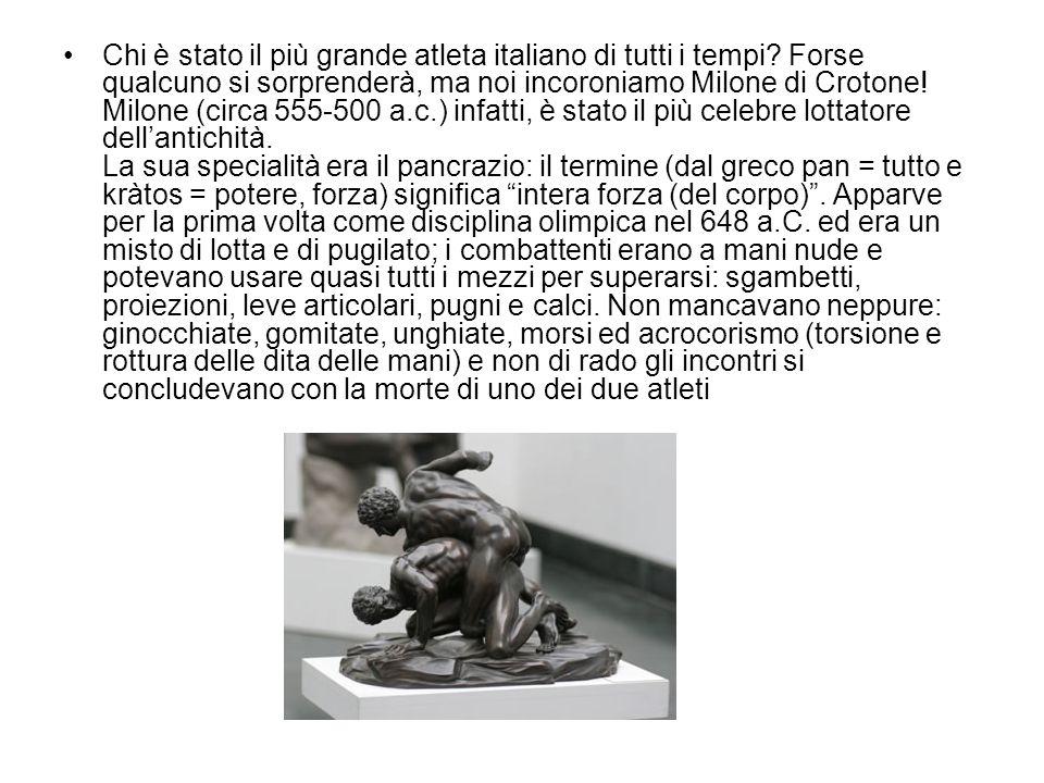 Chi è stato il più grande atleta italiano di tutti i tempi