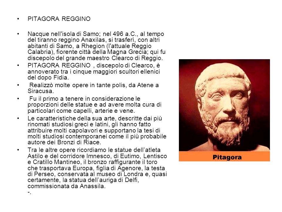 PITAGORA REGGINO