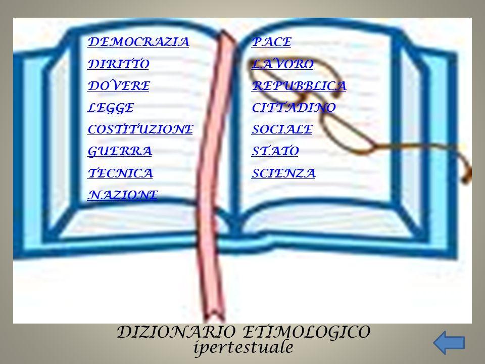 DIZIONARIO ETIMOLOGICO ipertestuale