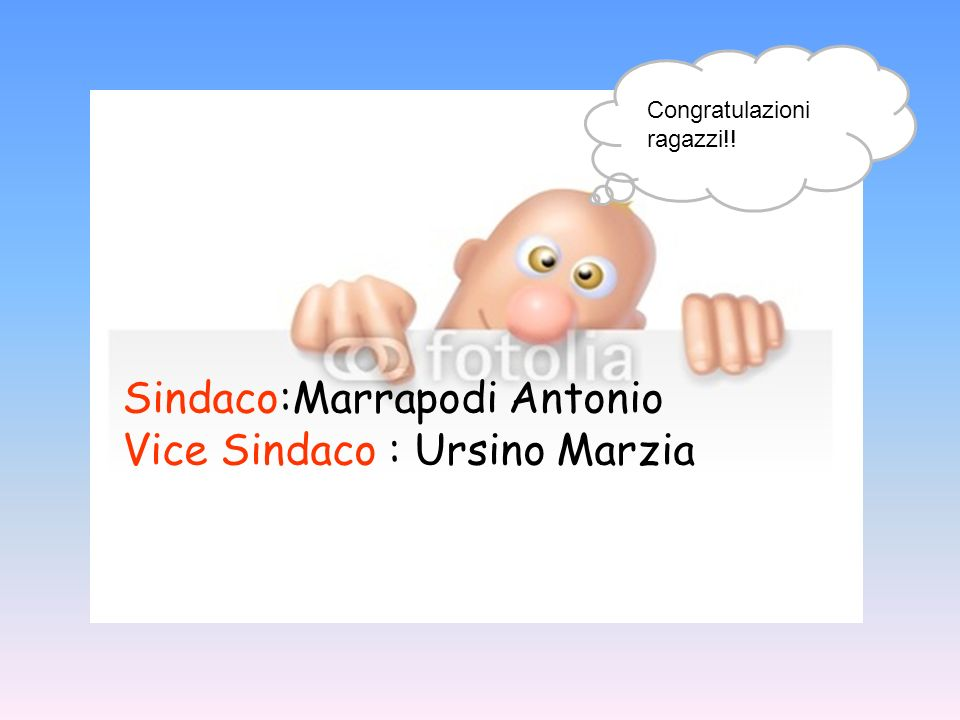 Sindaco:Marrapodi Antonio Vice Sindaco : Ursino Marzia