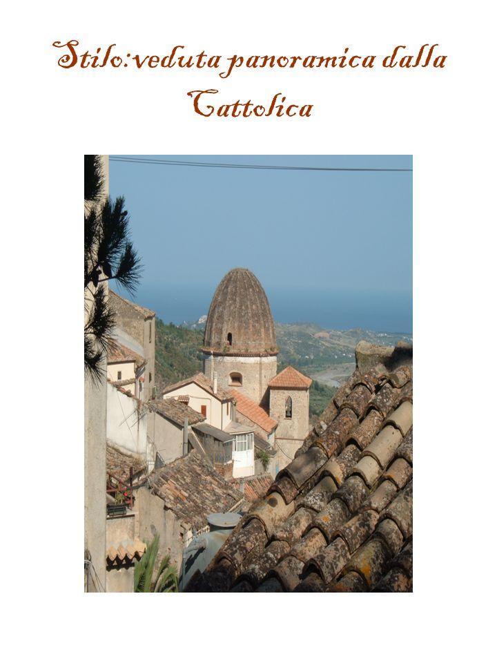 Stilo:veduta panoramica dalla Cattolica