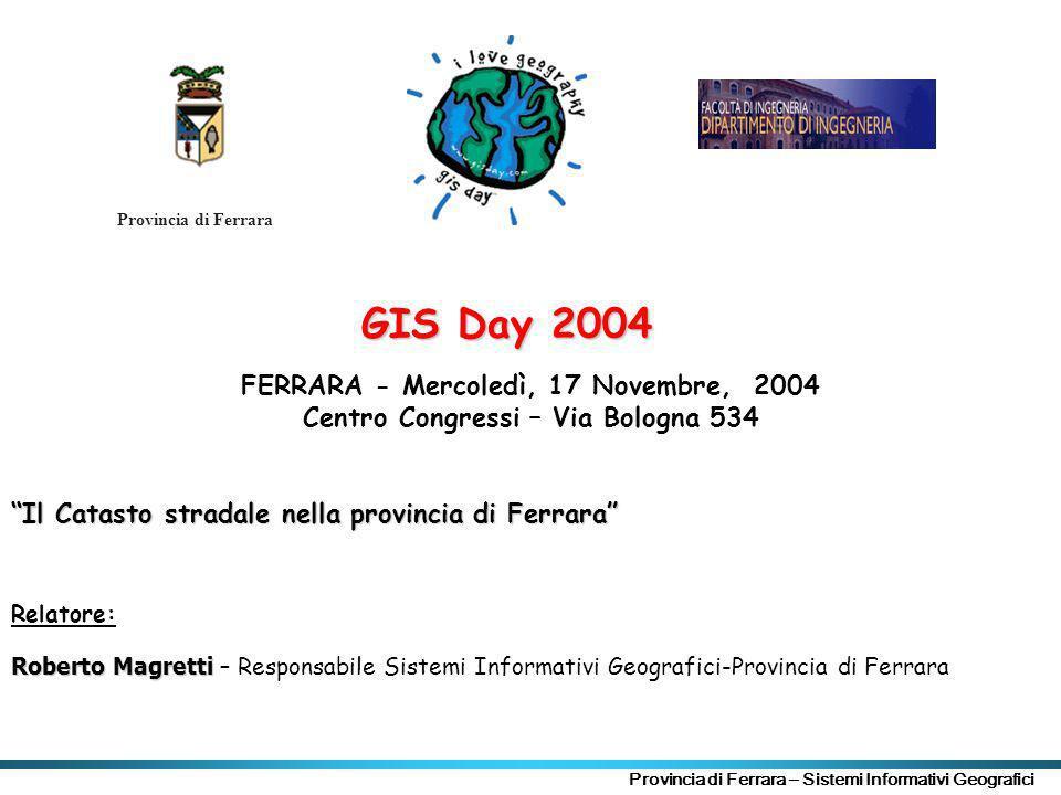 FERRARA - Mercoledì, 17 Novembre, 2004