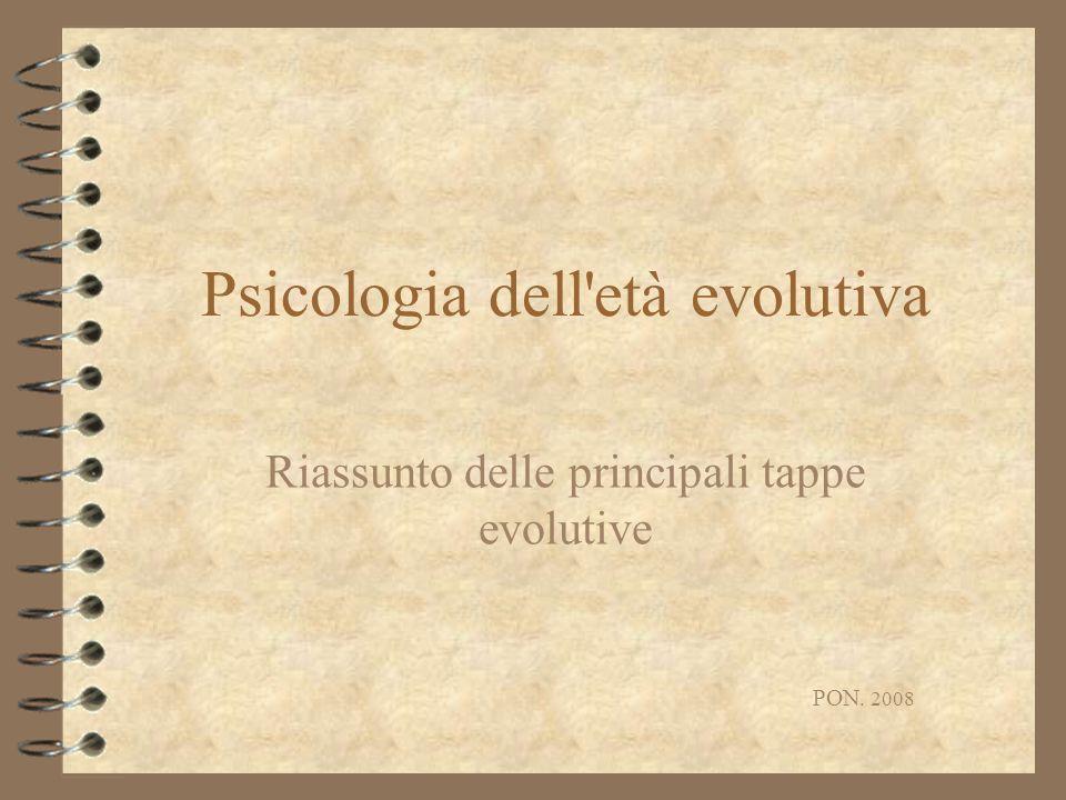 Psicologia dell età evolutiva