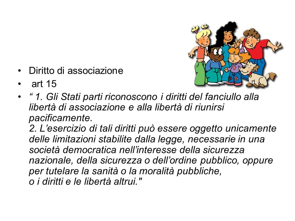 Diritto di associazione