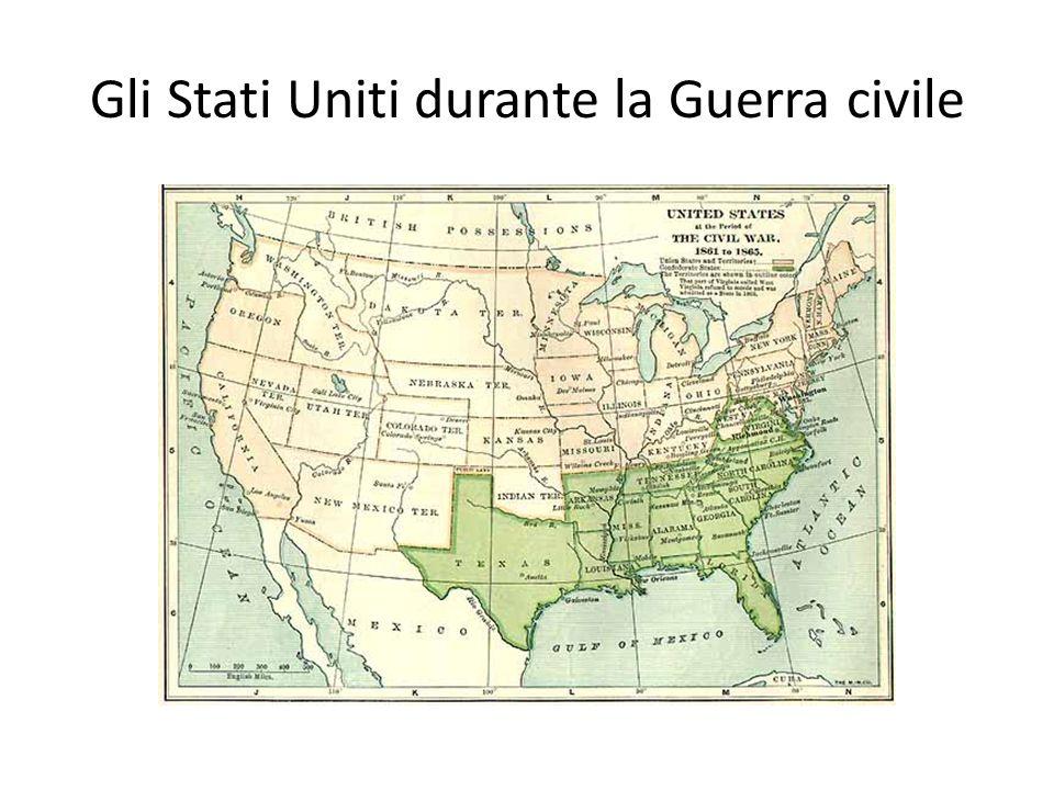 Gli Stati Uniti durante la Guerra civile