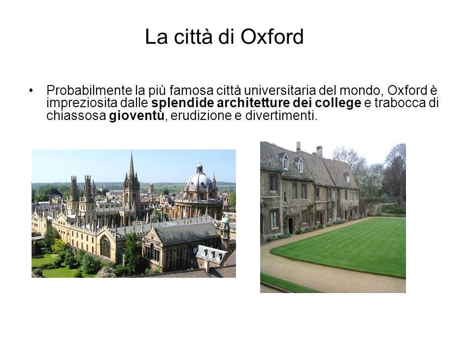 La città di Oxford
