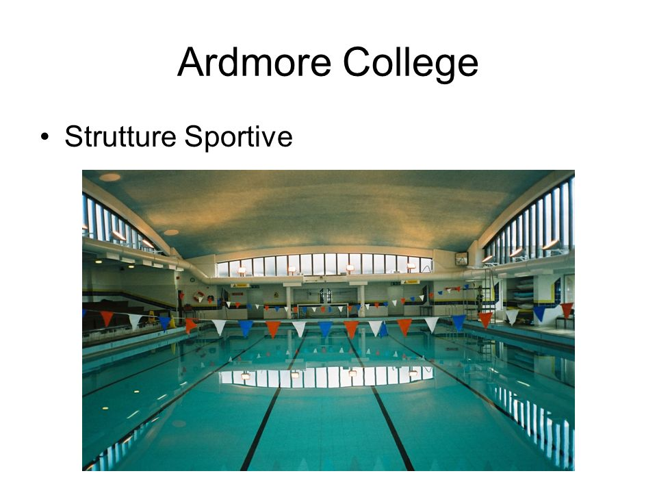 Ardmore College Strutture Sportive