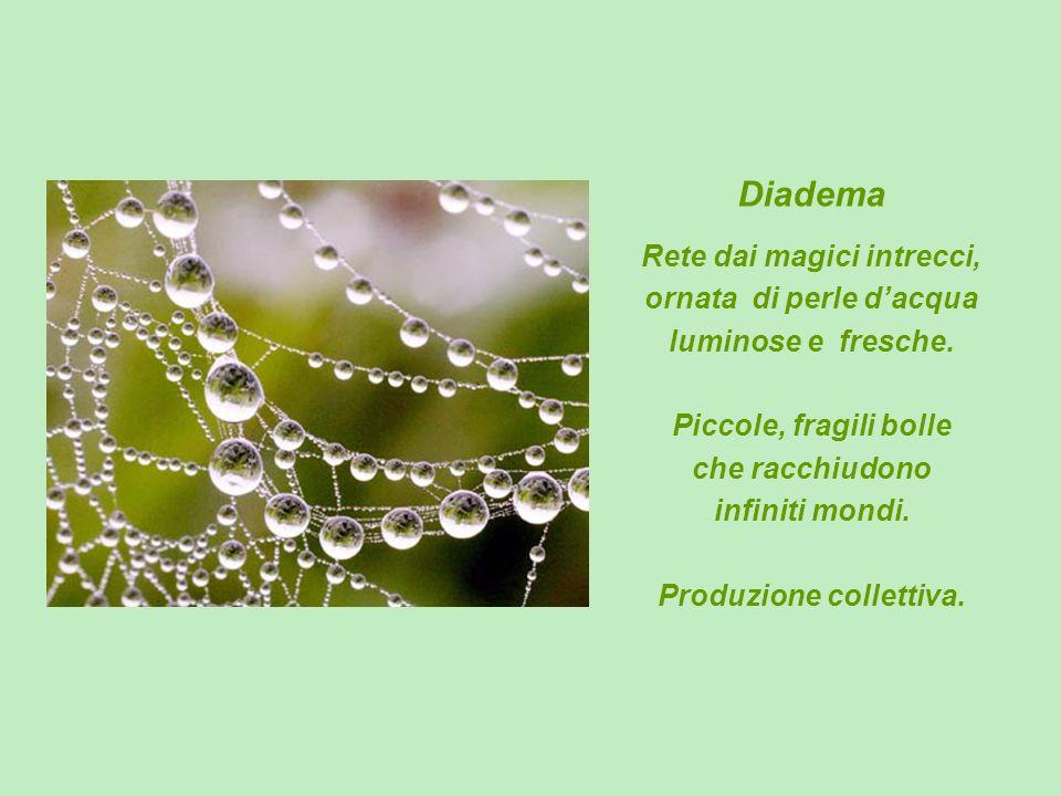Diadema Rete dai magici intrecci, ornata di perle d'acqua