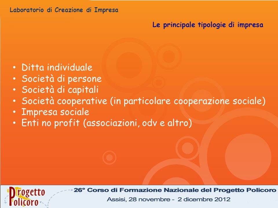 Società cooperative (in particolare cooperazione sociale)