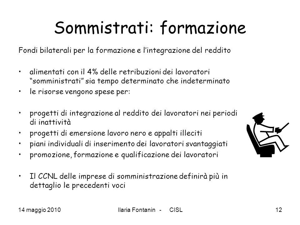Sommistrati: formazione