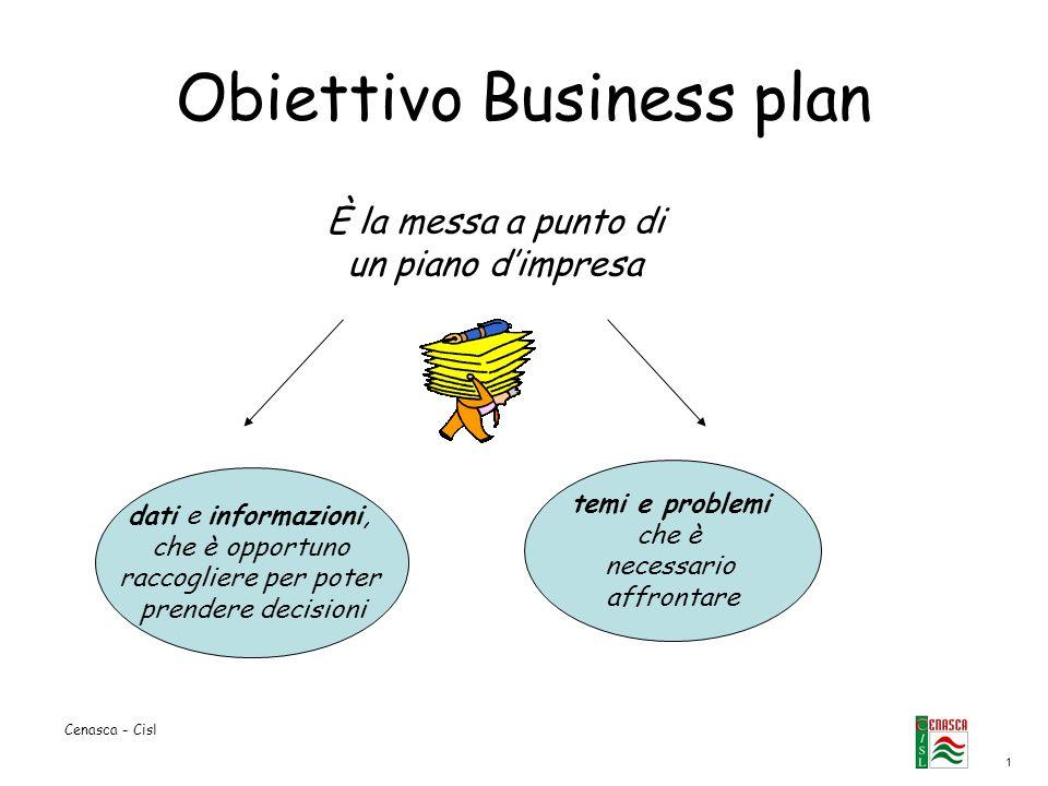 Obiettivo Business plan