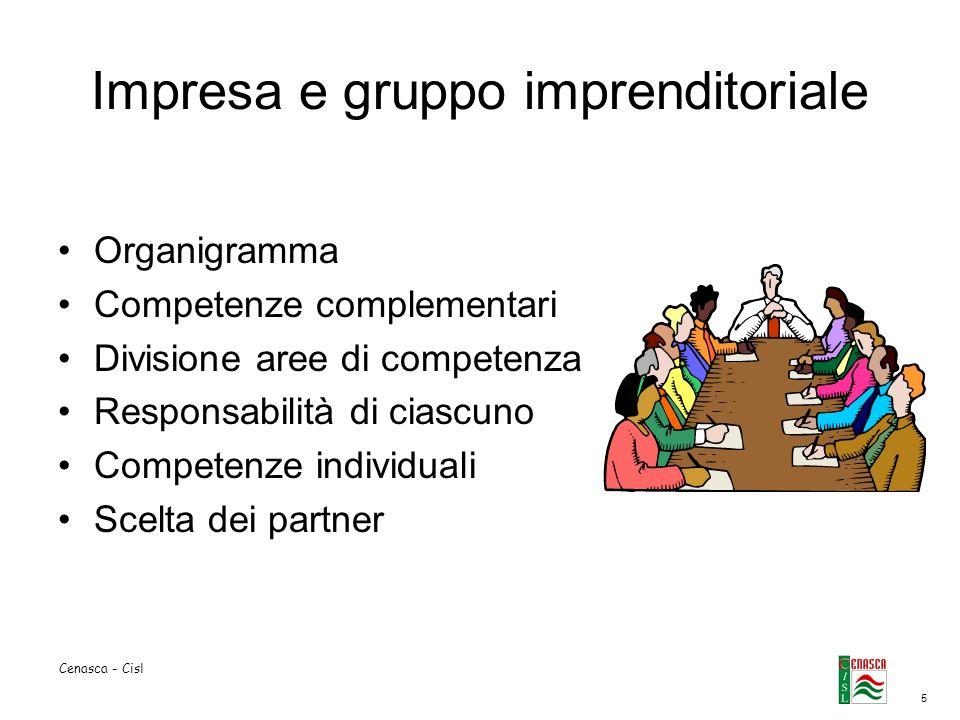 Impresa e gruppo imprenditoriale