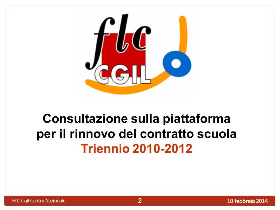 Consultazione sulla piattaforma per il rinnovo del contratto scuola