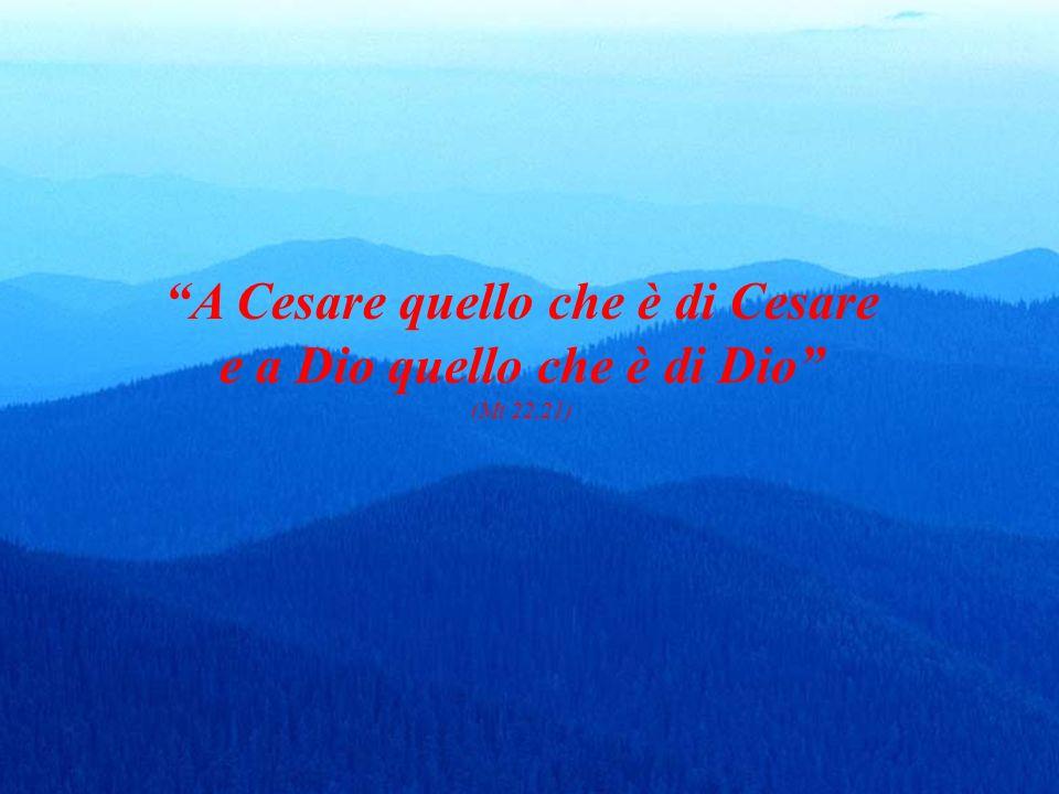 A Cesare quello che è di Cesare
