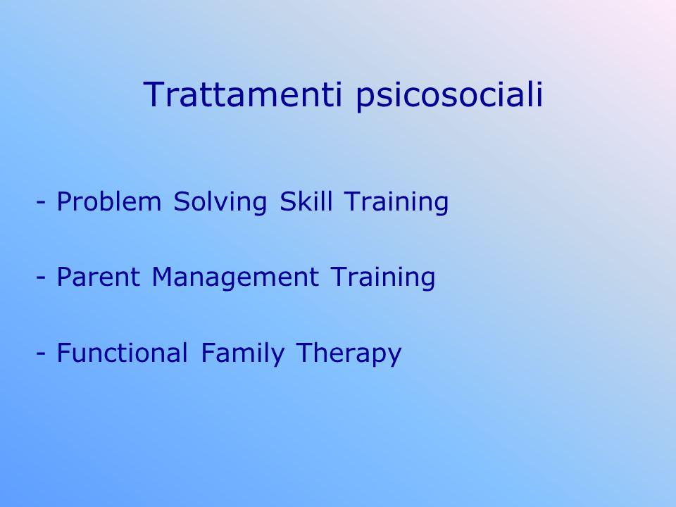 Trattamenti psicosociali