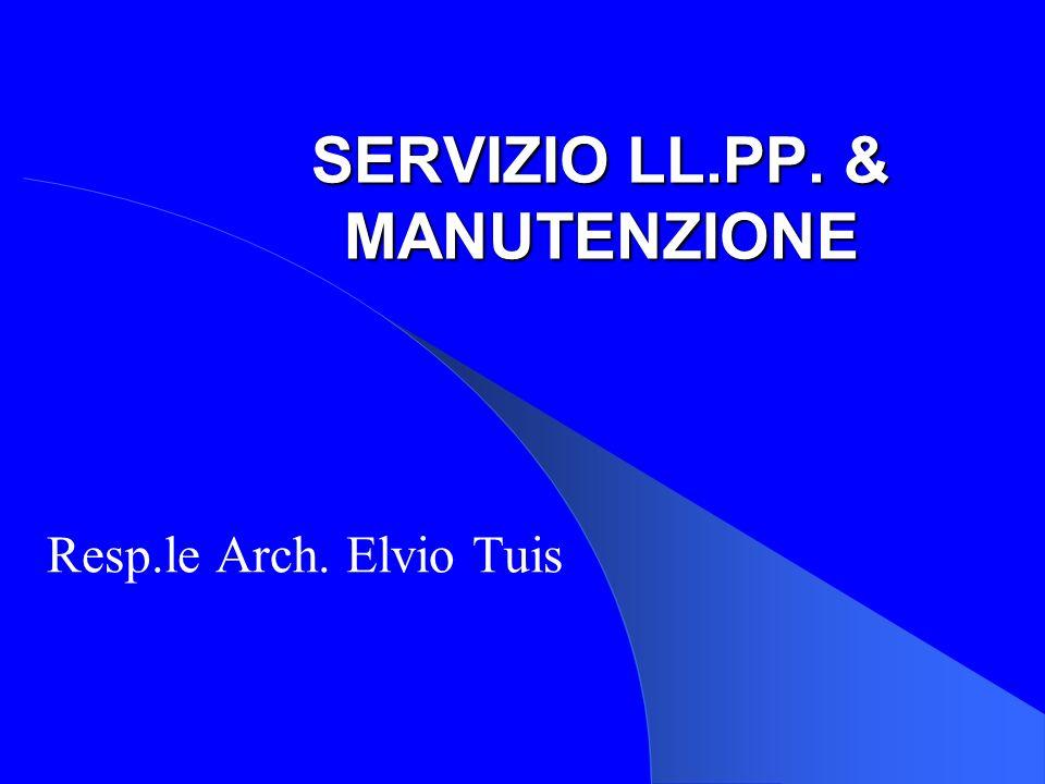 SERVIZIO LL.PP. & MANUTENZIONE
