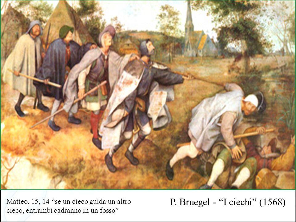 P. Bruegel - I ciechi (1568)