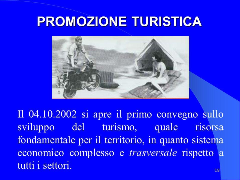 PROMOZIONE TURISTICA