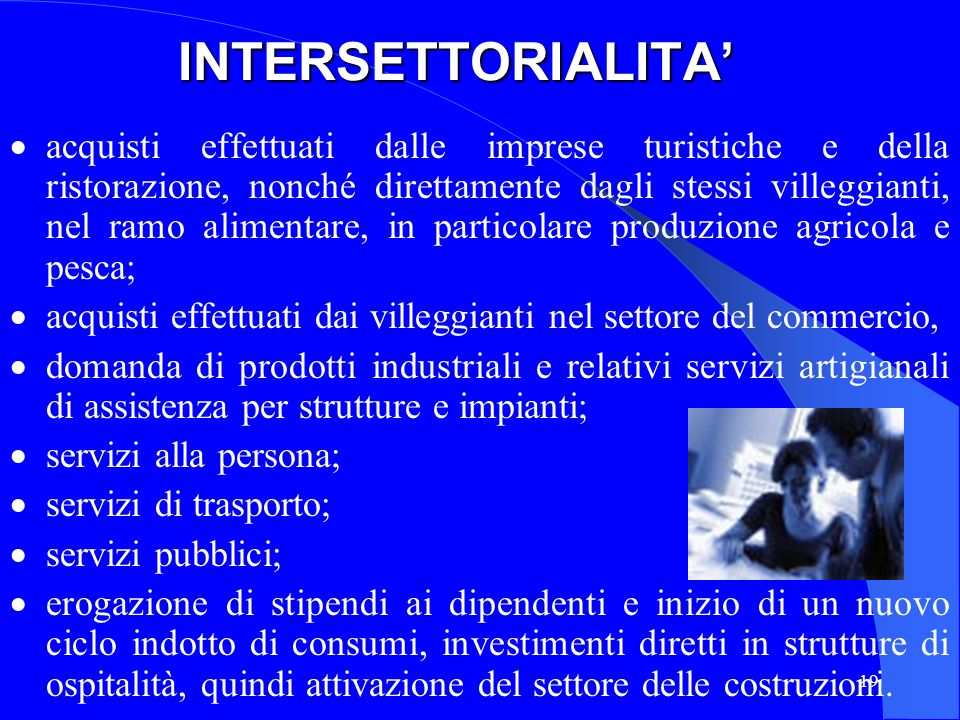 INTERSETTORIALITA'