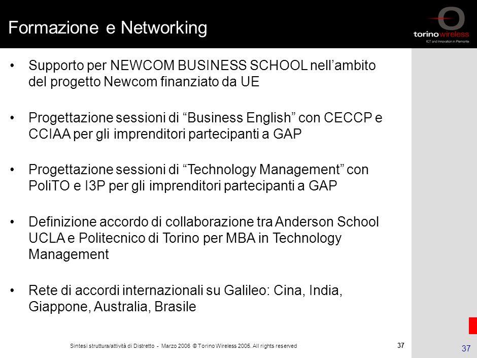 Formazione e Networking