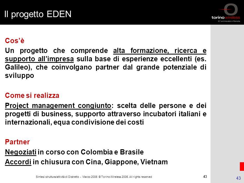 Il progetto EDEN 16.15.7/02 - 190402 - 35446/NG. Cos'è.