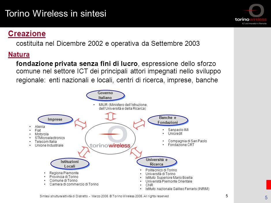 Torino Wireless in sintesi