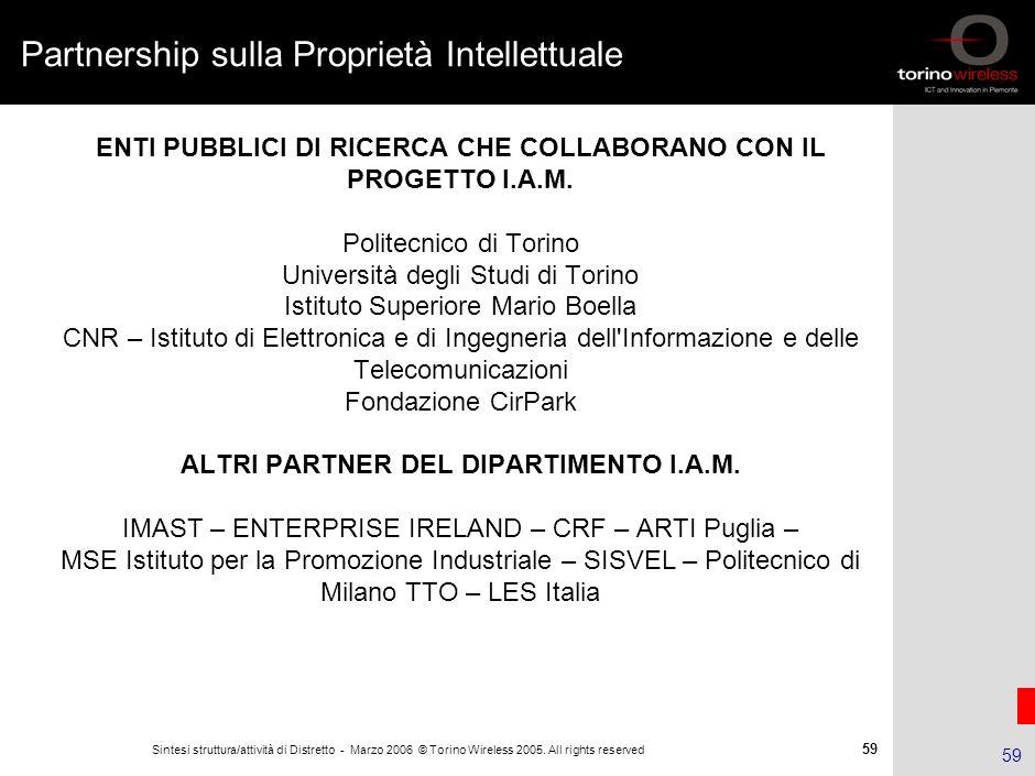 Partnership sulla Proprietà Intellettuale