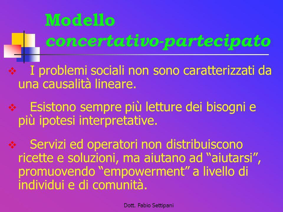 Modello concertativo-partecipato