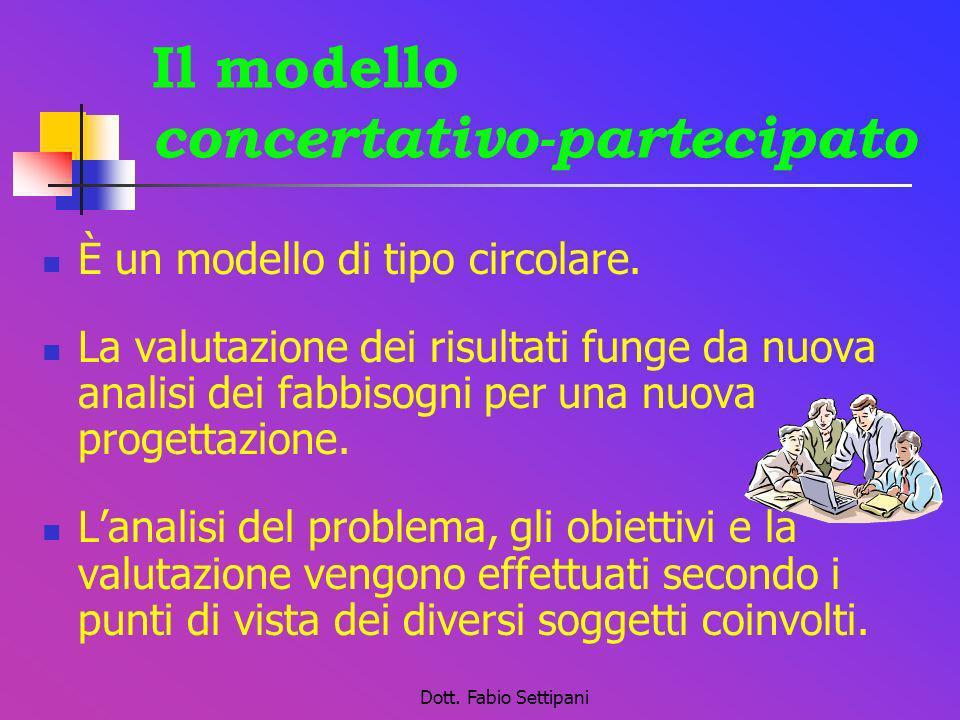 Il modello concertativo-partecipato