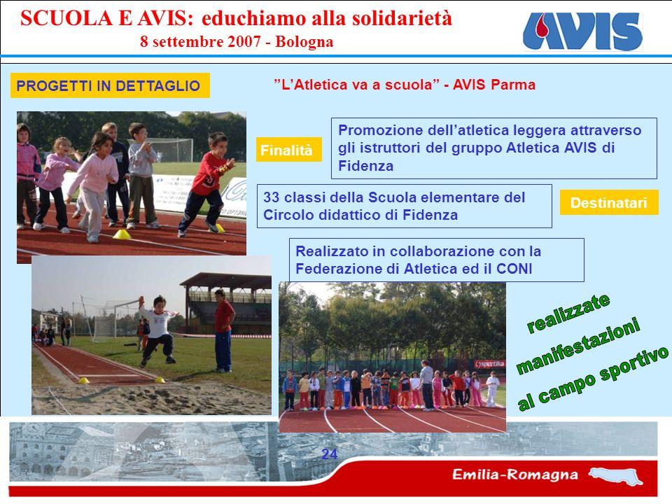 L'Atletica va a scuola - AVIS Parma