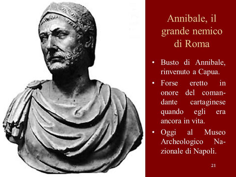 Annibale, il grande nemico di Roma