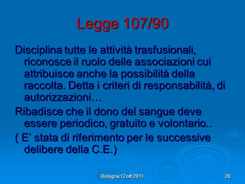 Legge 107/90