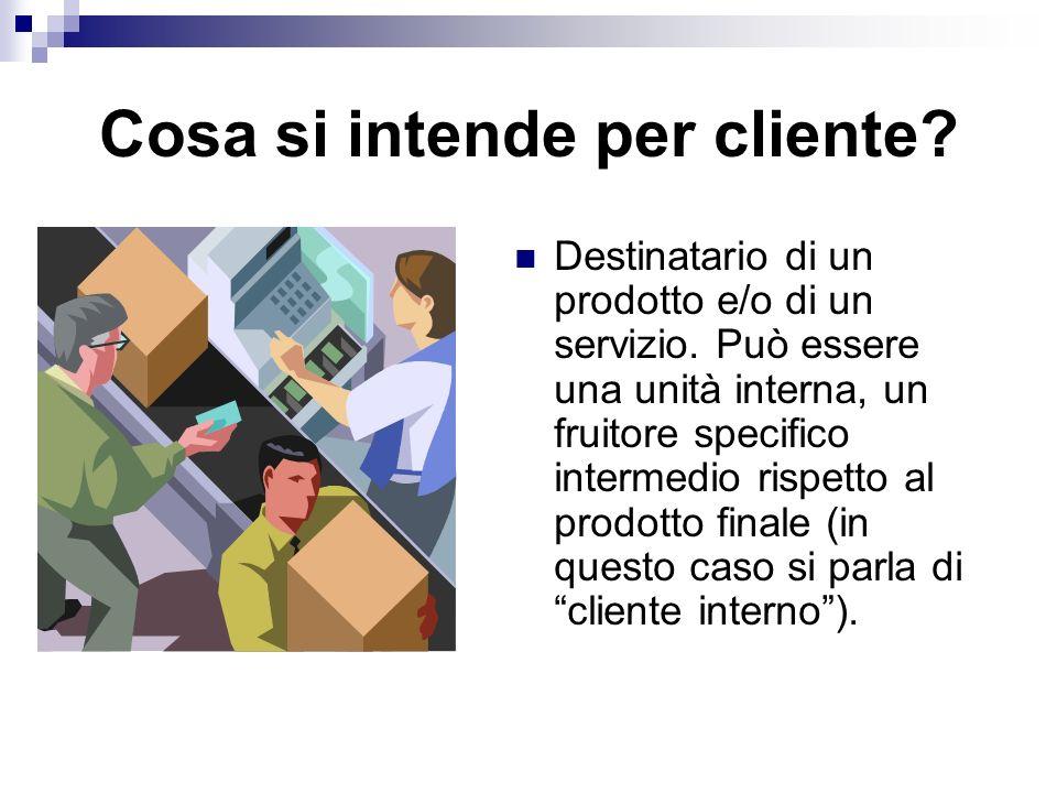 Cosa si intende per cliente