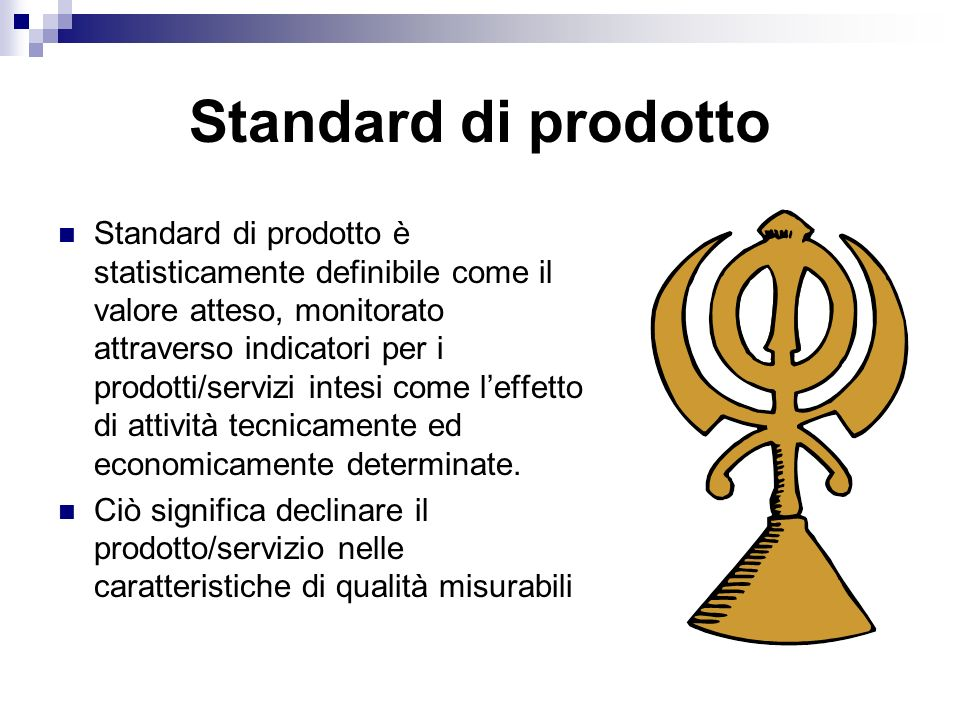 Standard di prodotto