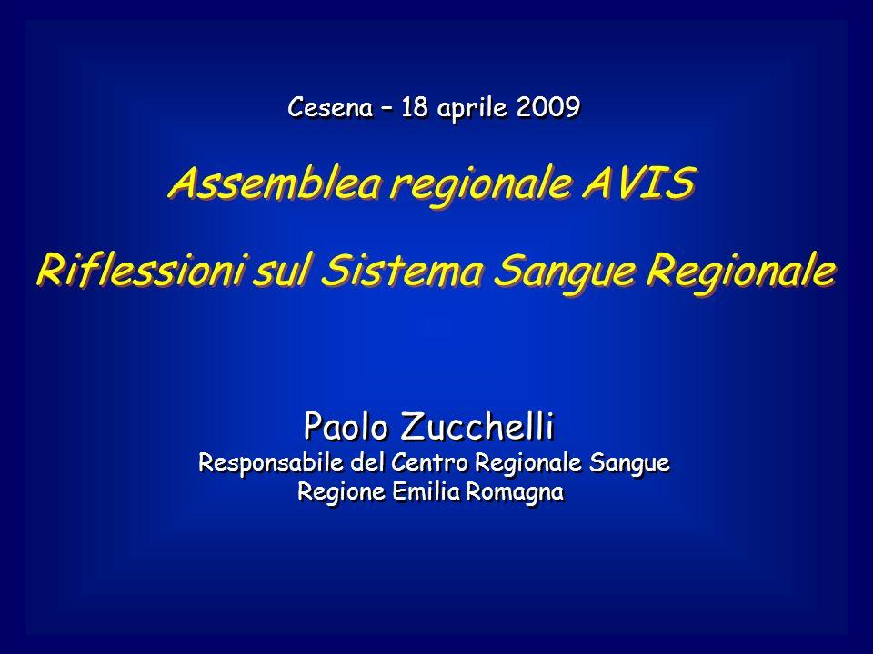 Assemblea regionale AVIS