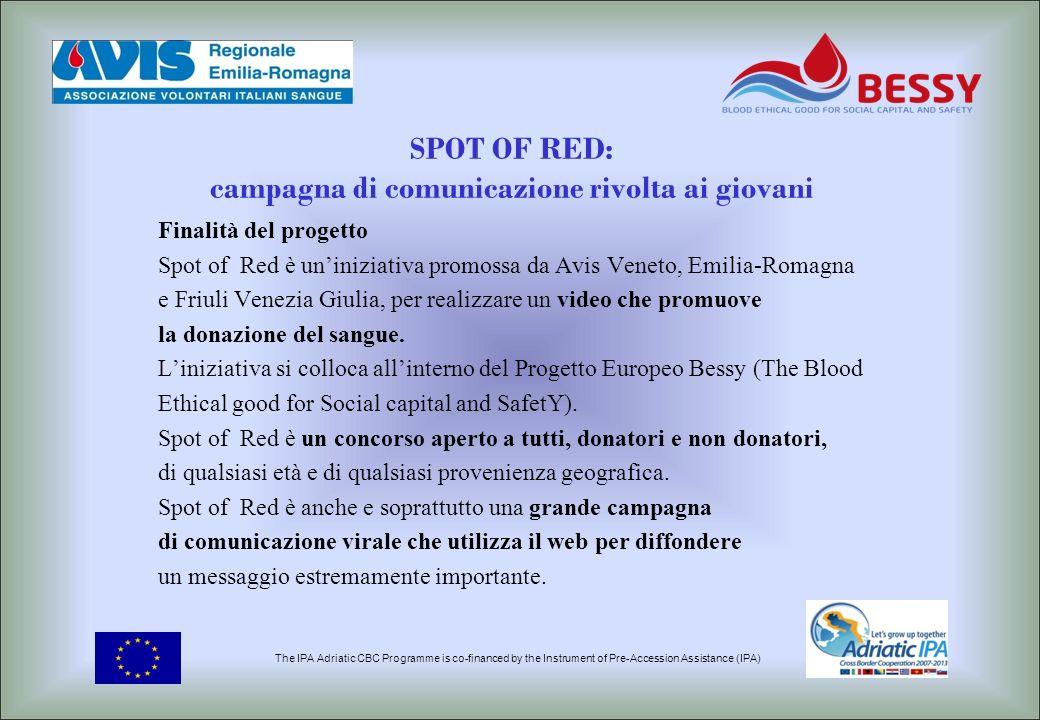 SPOT OF RED: campagna di comunicazione rivolta ai giovani