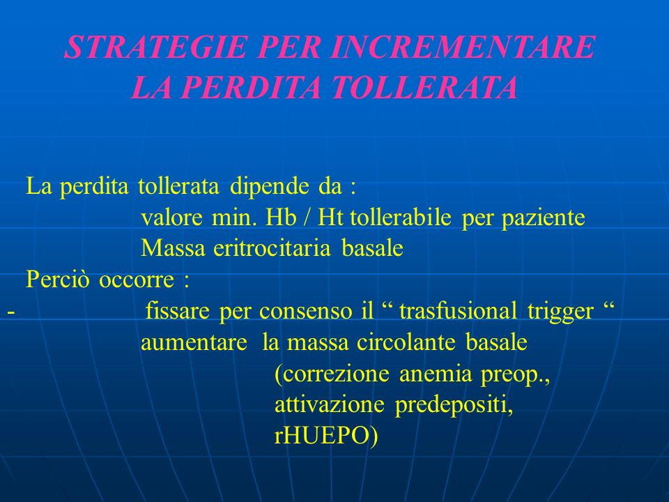 STRATEGIE PER INCREMENTARE