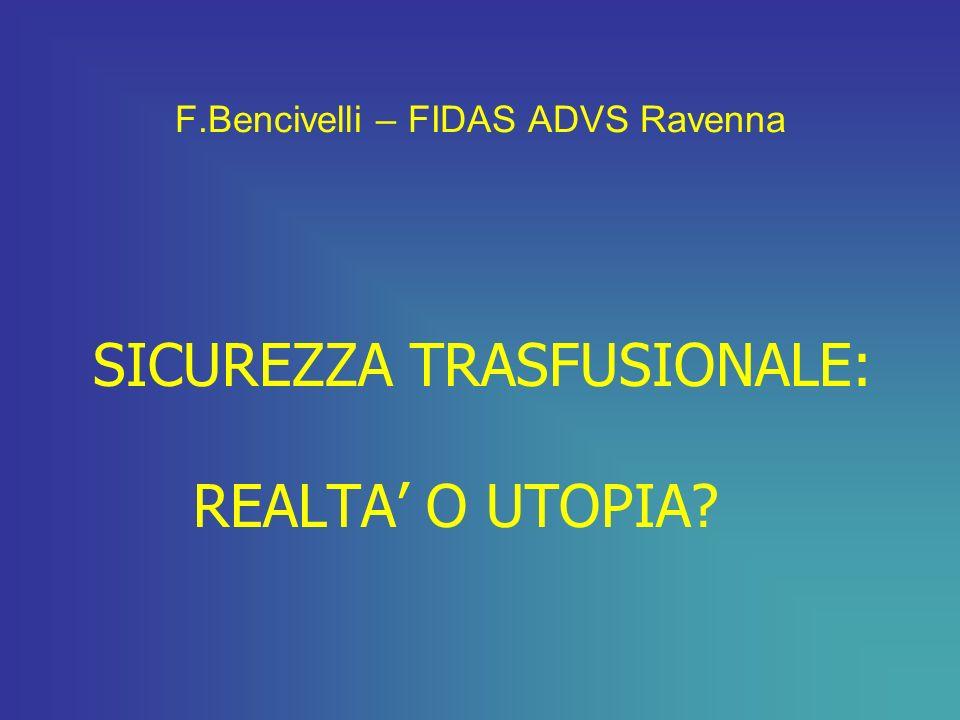 F.Bencivelli – FIDAS ADVS Ravenna